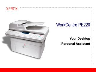 WorkCentre PE220
