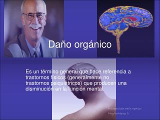 Daño orgánico