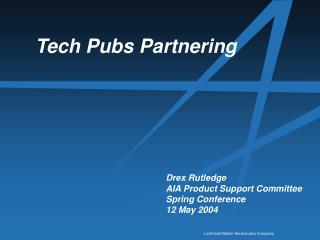 Tech Pubs Partnering