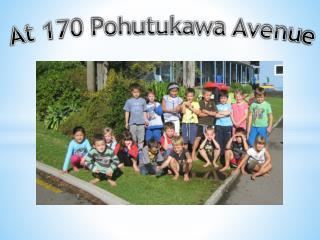 At 170 Pohutukawa Avenue