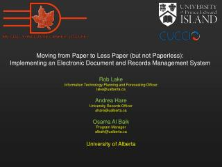 Moving from Paper to Less Paper (but not Paperless):