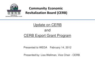 Community Economic  Revitalization Board (CERB)