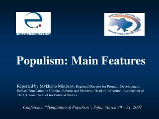Populism: Main Features