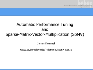 Performance Tuning Examples