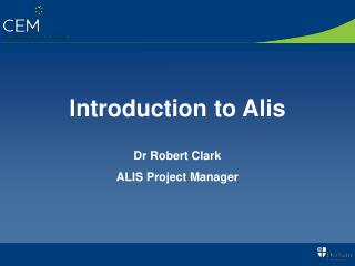 Introduction to Alis