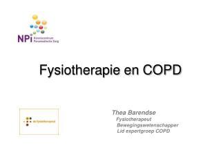 Fysiotherapie en COPD