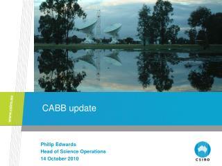 CABB update