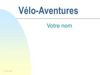 V�lo-Aventures