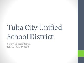 Tuba City Unified School District