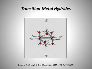Transition-Metal Hydrides