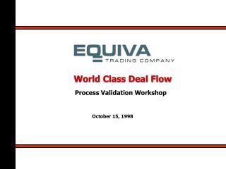 World Class Deal Flow