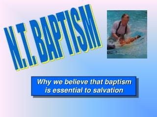 N.T. BAPTISM