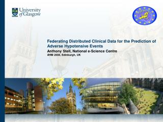 Federating Distributed Clinical Data for the Prediction of Adverse Hypotensive Events