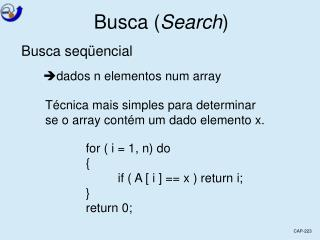 Busca ( Search )