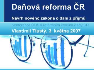 Daňová reforma ČR