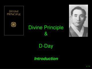 Divine Principle & D-Day