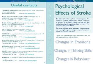 Changes in Behaviour