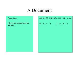 A Document