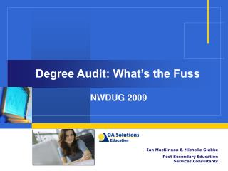 Degree Audit: What's the Fuss
