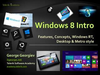 Windows 8 Intro