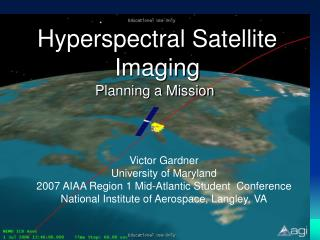 Hyperspectral Satellite Imaging