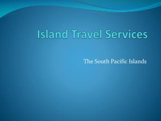 Island Travel Services