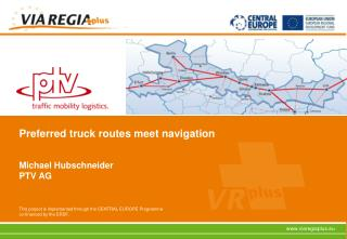 Preferred truck routes meet navigation
