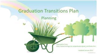Graduation Transitions Plan
