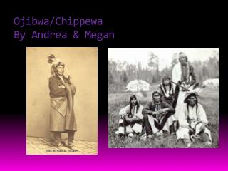 Ojibwa/Chippewa By Andrea & Megan