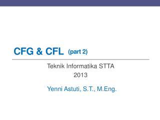 CFG &  CFL