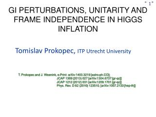 GI PERTURBATIONS, UNITARITY AND FRAME INDEPENDENCE IN HIGGS INFLATION