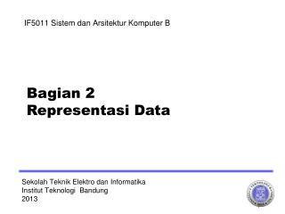 Sekolah Teknik Elektro dan Informatika  Institut Teknologi  Bandung 2013