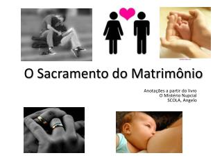O Sacramento do Matrimônio