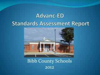 Advanc -ED  Standards Assessment Report