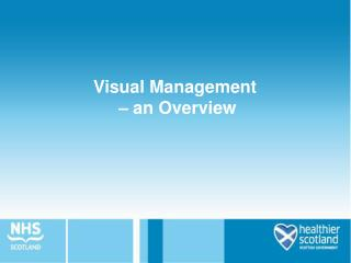 Visual Management    an Overview