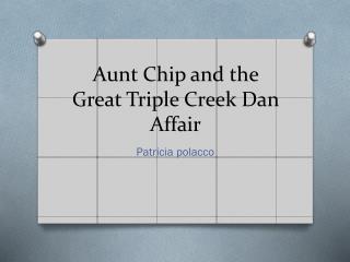 Aunt  C hip and the Great Triple Creek Dan Affair