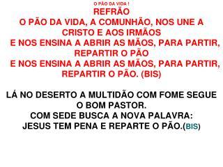 O PAO DA VIDA 214