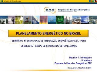 Rio de Janeiro, 15 de Maio de 2009