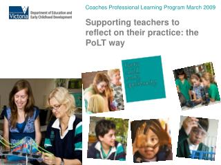 Coaches Professional Learning Program March 2009