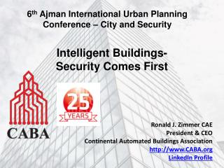 Intelligent Buildings- Security Comes First