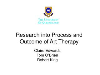 Research into Process and Outcome of Art Therapy