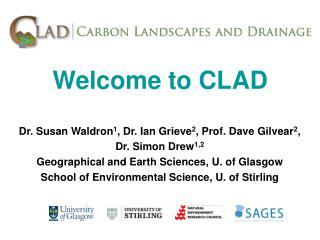 Welcome to CLAD