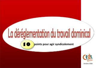 points pour agir syndicalement