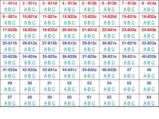 Which choice arranges the numbers from smallest to largest?