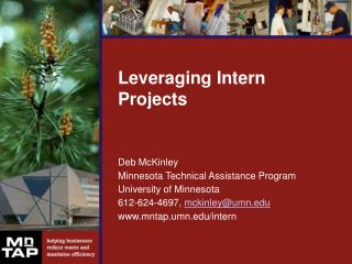 Leveraging Intern Projects