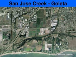 San Jose Creek - Goleta