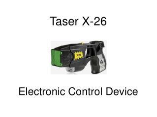 Taser X-26