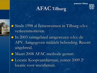 AFAC  Tilburg