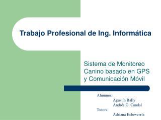 Trabajo Profesional de Ing. Informática