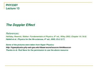 PHY238Y Lecture 13